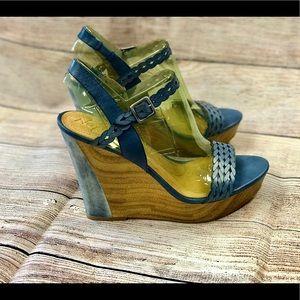 NIB Naya Bellina Wedge Sandals